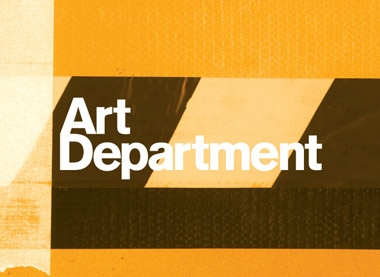 Logo and website design for Art Department
