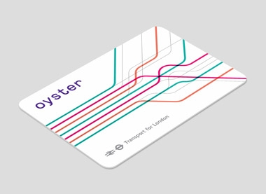 Oyster card concept for magazine