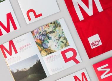 Metro print student materials design