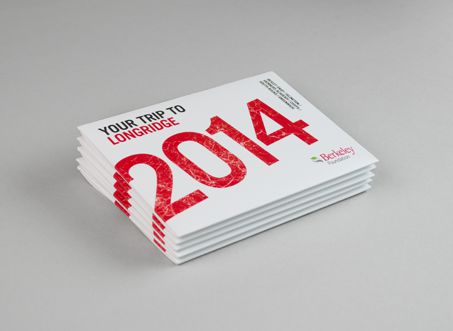 Promotional postcard pack for charitable trust